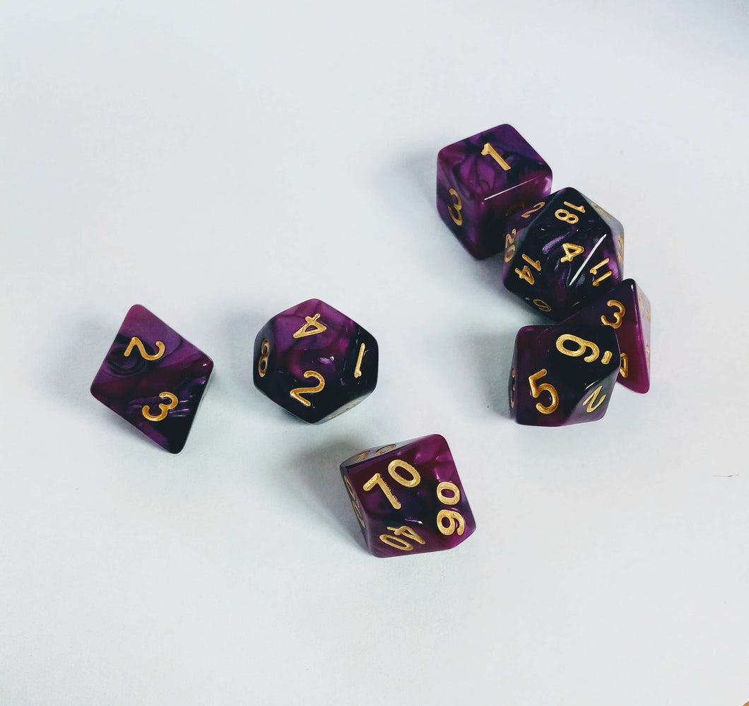 Purple Haze Dice set-Dice-Dice and Counters-Dice and Counters