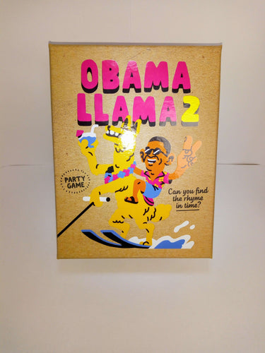 Obama Lama 2 mini-board game-Big Potato Games-Dice and Counters