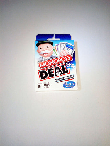 Monopoly Deal - board game - Hasbro - Dice and Counters