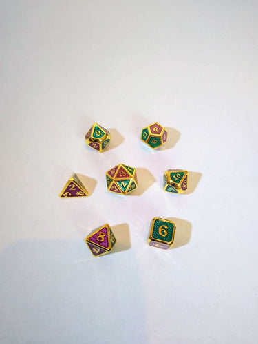 Her Majesty's Jester Dice Set-Dice-Dice and Counters-Dice and Counters