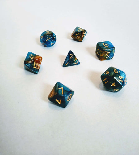 3 Wishes Galaxy Dice Set-Dice-Dice and Counters-Dice and Counters
