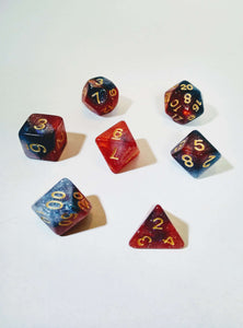Butterfly Nebula Dice Set - Dice - Dice and Counters - Dice and Counters