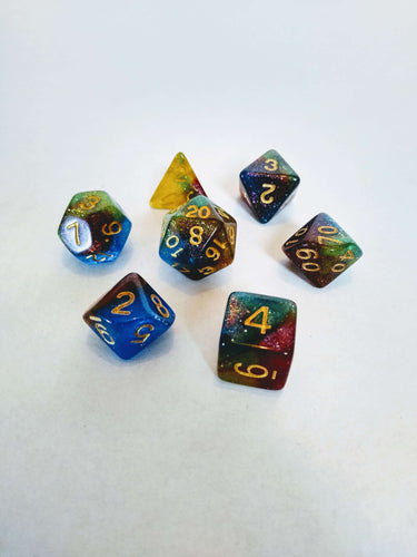 Helix Nebula Dice Set - Dice - Dice and Counters - Dice and Counters