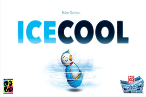 Ice Cool - board game - Brain Games - Dice and Counters