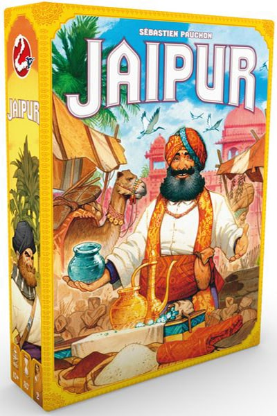Jaipur 2nd Edition-board game-Asmodee-Dice and Counters