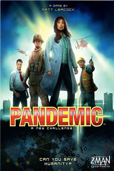 Pandemic - board game - Z-Man Games - Dice and Counters
