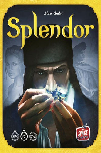 Splendor-board game-Space Cowboys-Dice and Counters