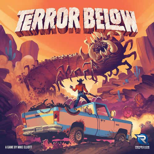 Terror Below-board game-Renegade Games-Dice and Counters