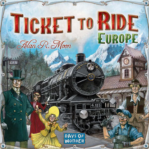 Ticket To Ride Europe - board game - Days of Wonder - Dice and Counters