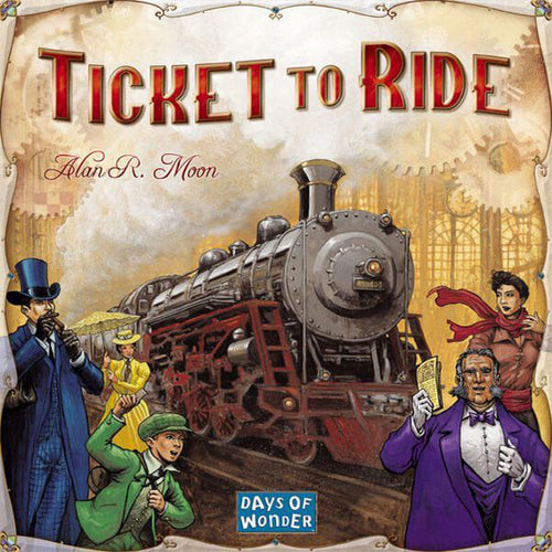 Ticket To Ride-board game-Days of Wonder-Dice and Counters
