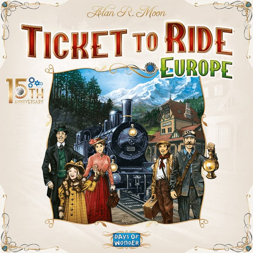 Ticket To ride 15th Anniversary Edition PREORDER-Pre-orders-Days of Wonder-Dice and Counters