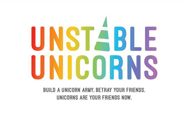 Unstable Unicorns-board game-Teeturtle-Dice and Counters