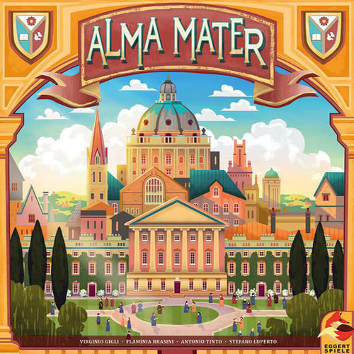 Alma Mater Pre Order-Pre-orders-Plan B Games-Dice and Counters