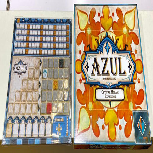 Azul: Crystal Mosaic-board game-Next Move Games-Dice and Counters