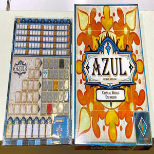 Azul: Crystal Mosaic - board game - Next Move Games - Dice and Counters