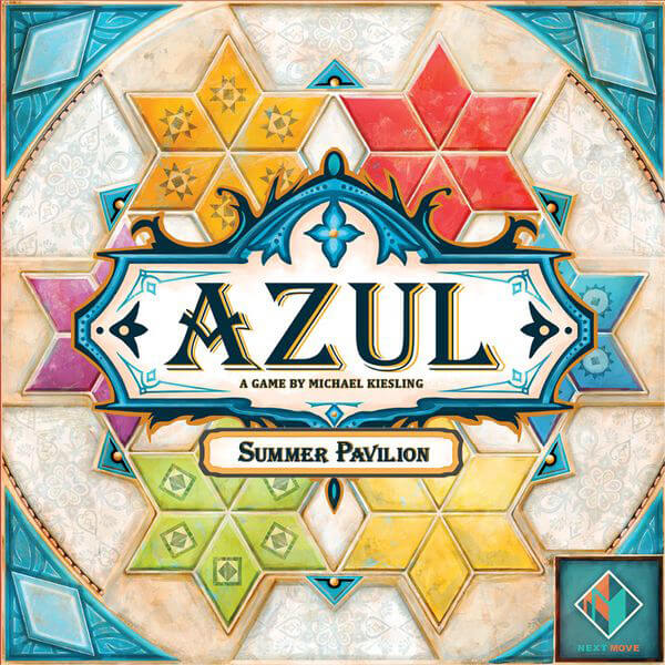 Azul: Summer Pavilion - board game - Next Move Games - Dice and Counters