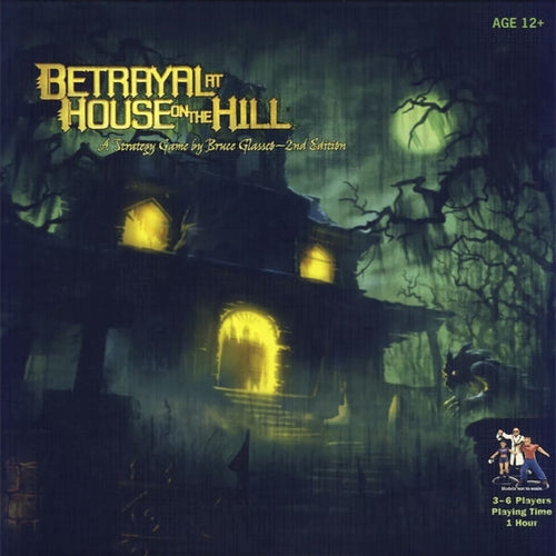 Betrayal at House on the Hill-board game-Avalon Hill-Dice and Counters