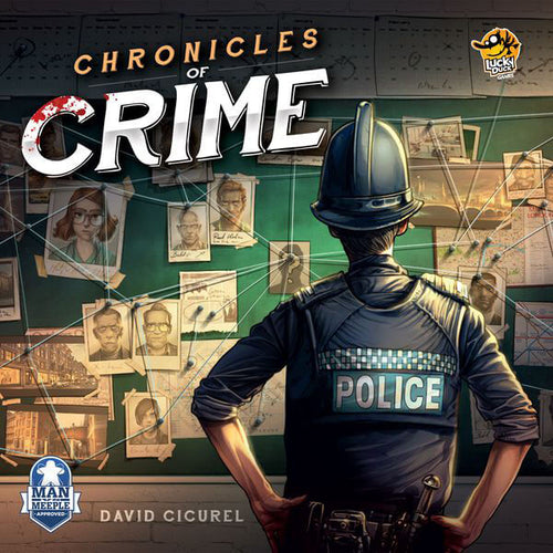 Chronicles of Crime-board game-Lucky Duck Games-Dice and Counters