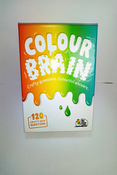 Colour Brain mini-board game-Big Potato Games-Dice and Counters