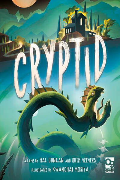 Cryptid - board game - Osprey Games - Dice and Counters
