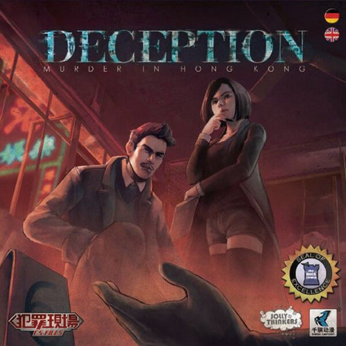 Deception: Murder in Hong Kong - board game - jolly thinkers - Dice and Counters
