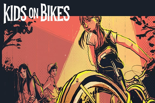Kids on Bikes - book - Renegade Games - Dice and Counters