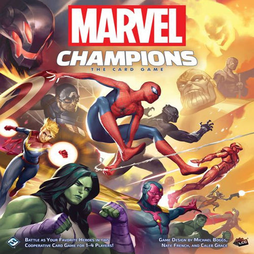 Marvel Champions; The Card Game-board game-Fantasy Flight Games-Dice and Counters