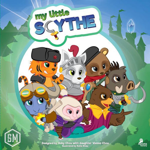 My Little Scythe-board game-Stonemaier Games-Dice and Counters