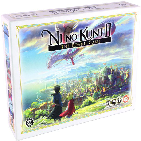 Ni No Kuni II The Board Game-board game-steamforged games-Dice and Counters