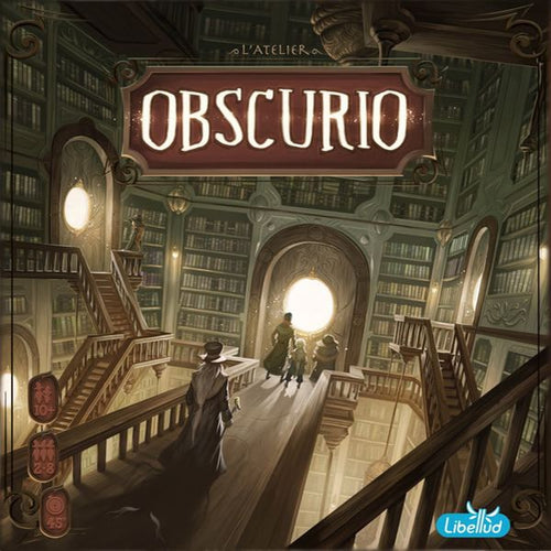 Obscurio - board game - Libellud - Dice and Counters