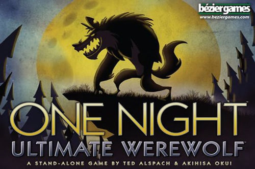 One Night Ultimate Werewolf - board game - Bezier Games - Dice and Counters