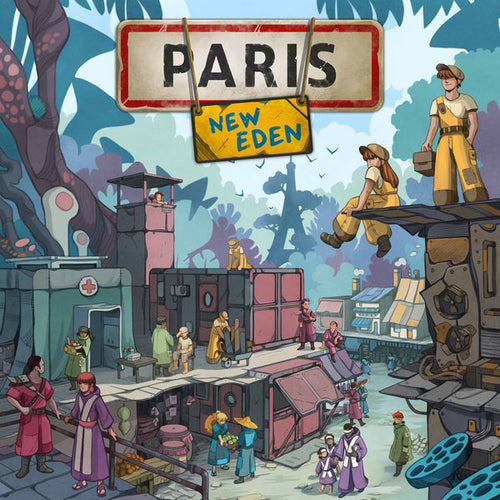 Paris New Eden-board game-Matagot-Dice and Counters