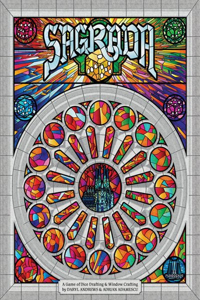 Sagrada - board game - Floodgate Games - Dice and Counters