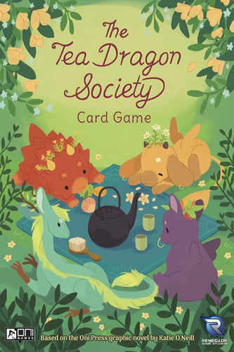 The Tea Dragon Society Card Game - board game - Renegade Games - Dice and Counters