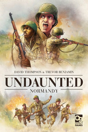 Undaunted: Normandy-board game-Osprey Games-Dice and Counters