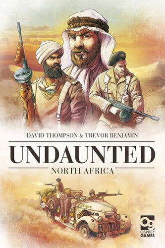 Undaunted: North Africa - board game - Osprey Games - Dice and Counters