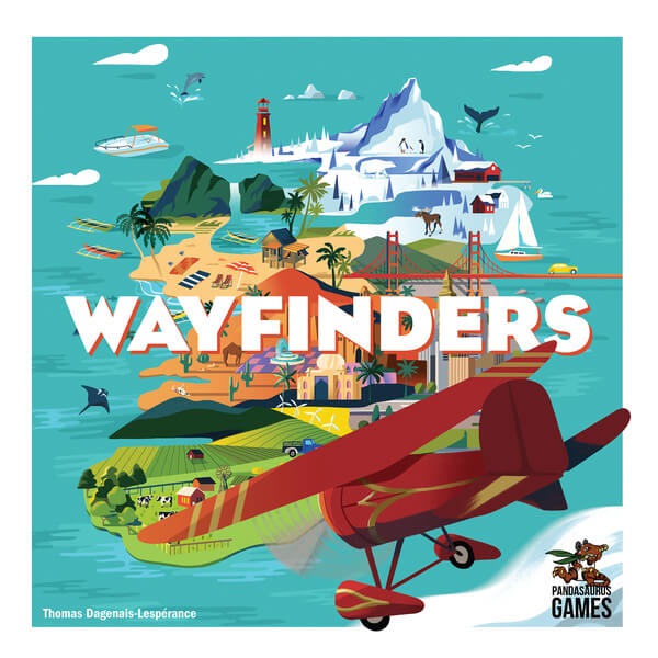 Wayfinders - board game - Renegade Games - Dice and Counters
