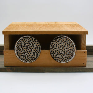 System 74 Double Shelter for Mason Bees