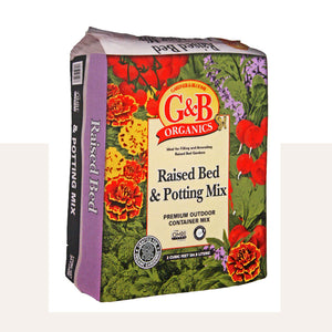 Kellogg G&B Organics Raised Bed and Potting Mix 3CF