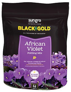 Sungro Black Gold African Violet Potting Mix - 8 qt