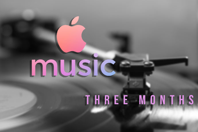 Three Month Apple Music Promotion