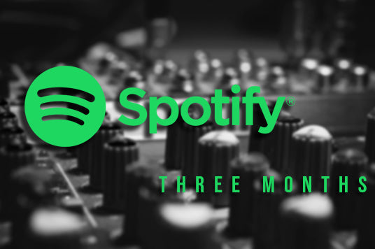 Three Month Spotify Promotion