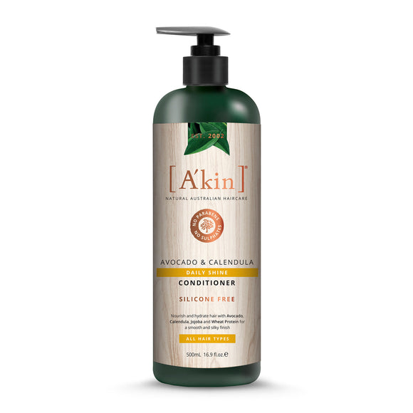 A'Kin Avocado & Calendula Daily Shine Conditioner 500ml