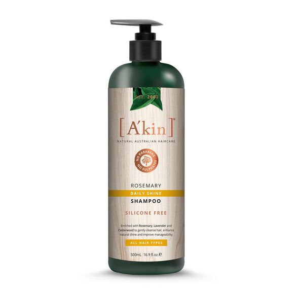 A'Kin Rosemary Daily Shine Shampoo 500ml