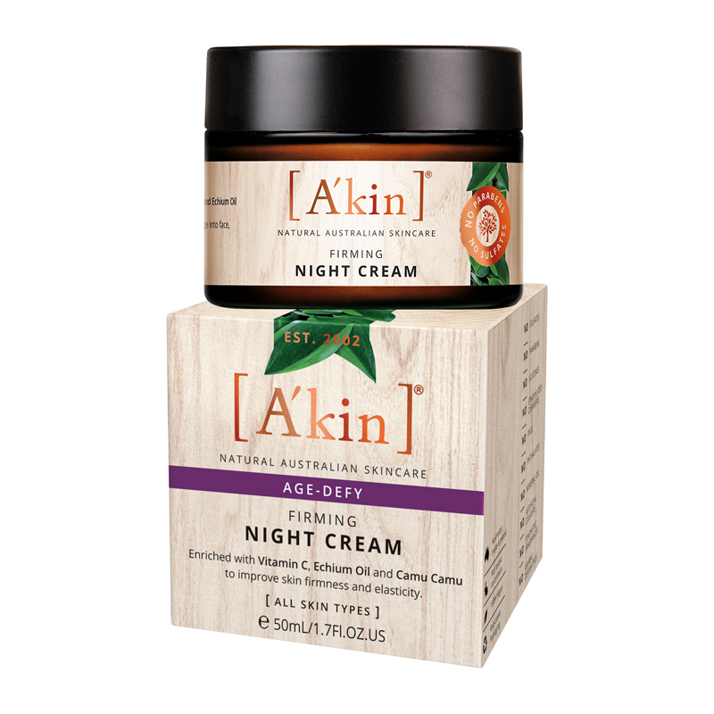 A'kin Age Defy Firming Night Cream 50ml
