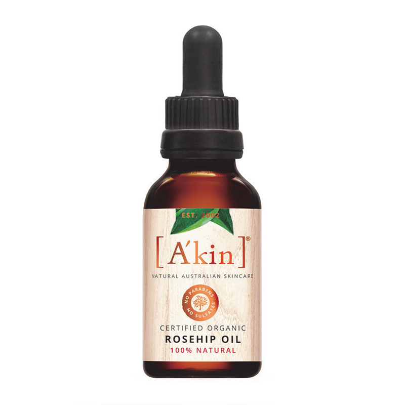 A'kin Certified Organic Pure Radiance Rosehip Oil 20ml