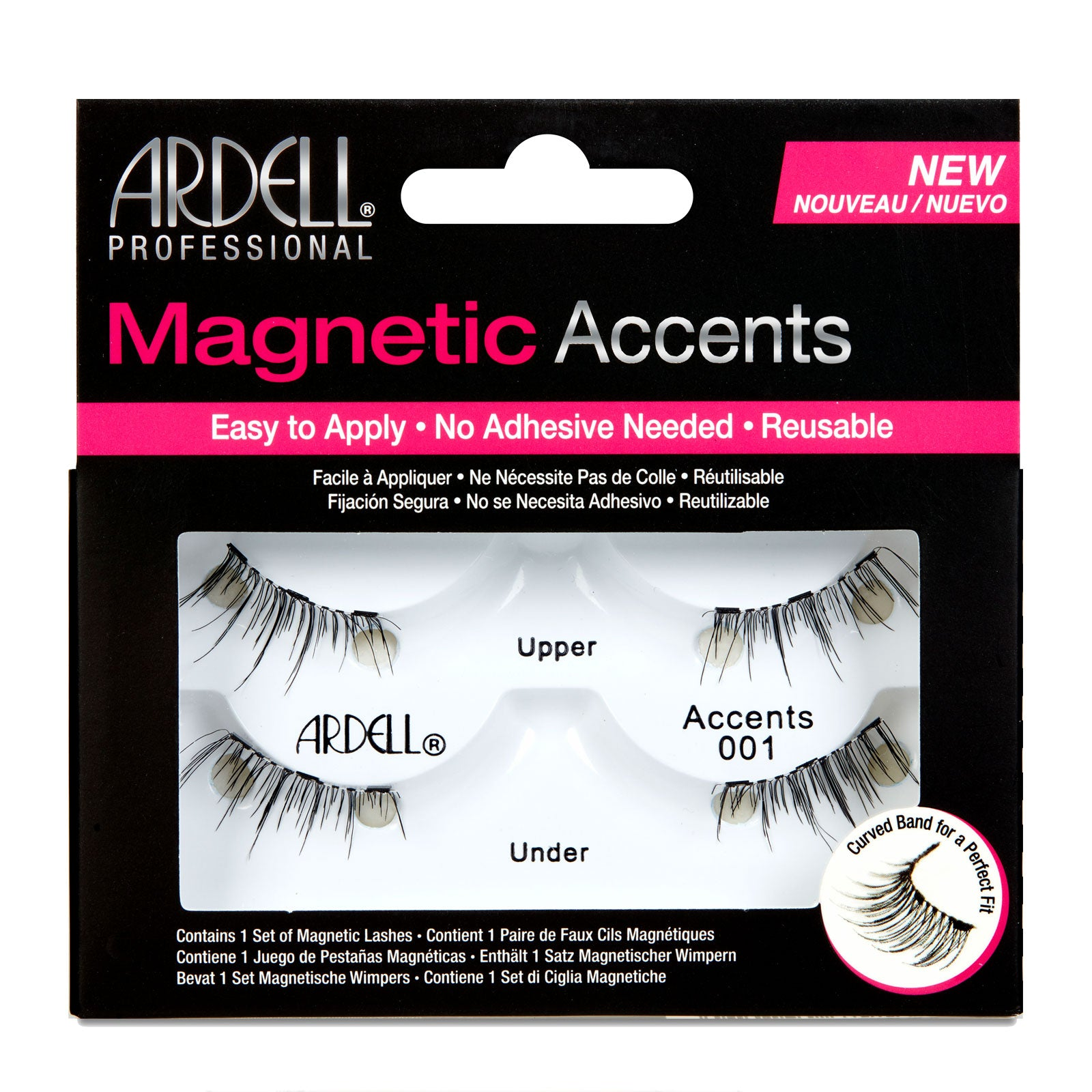 Ardell Magnetic Accents Lashes Accents 001