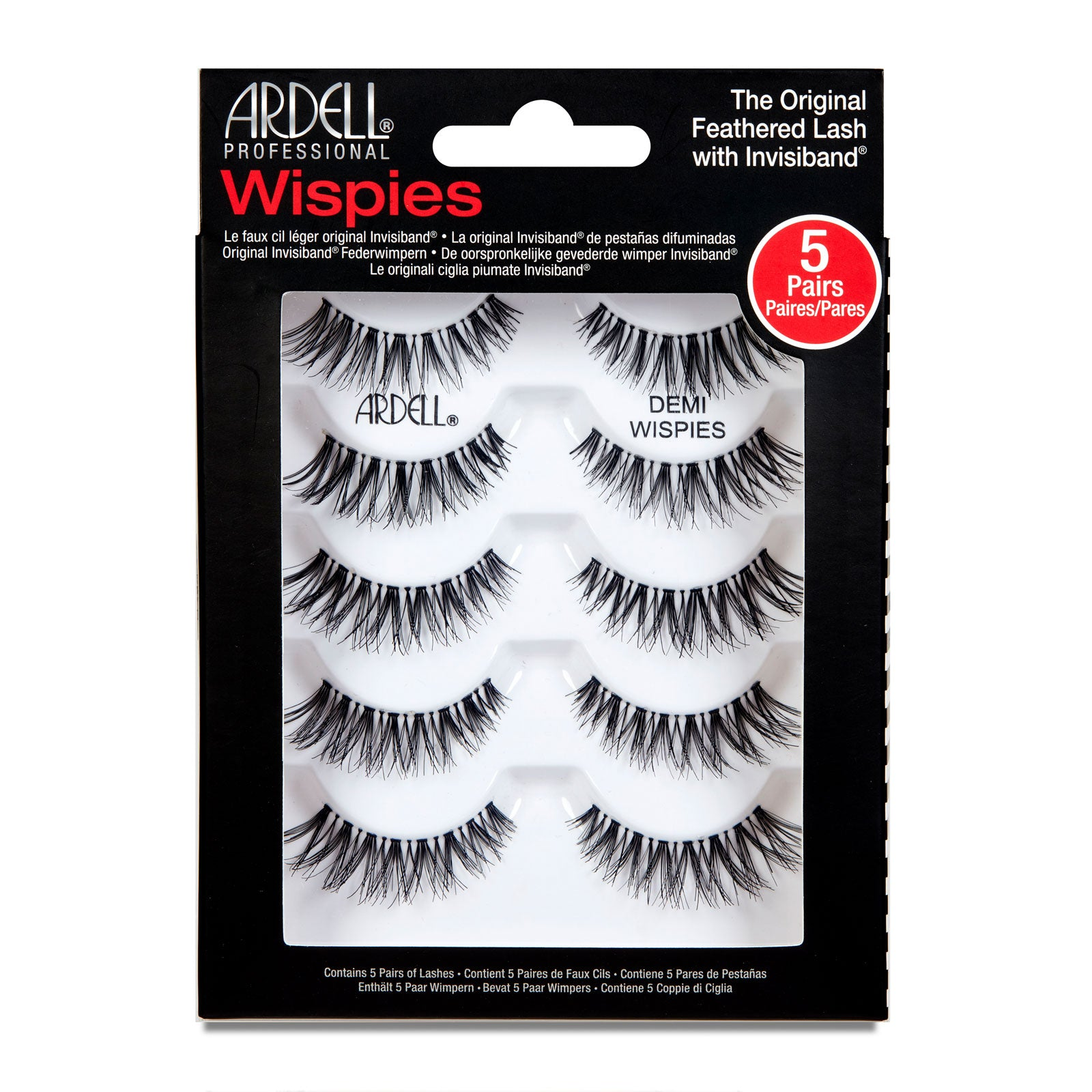 Ardell Multipack Demi Wispies Lashes 5 Pairs