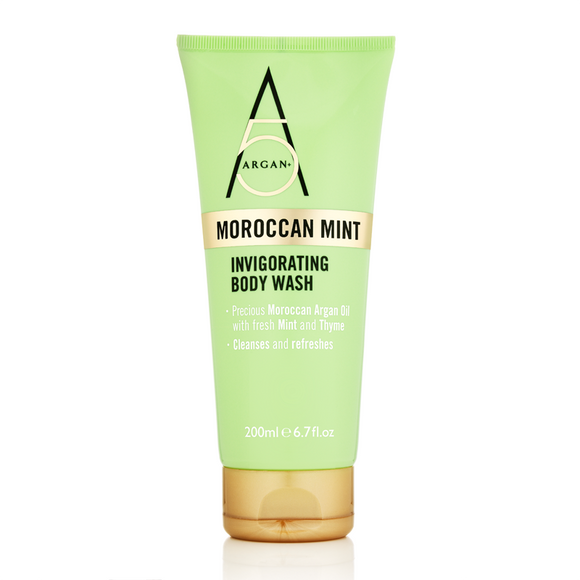 Argan+ Moroccan Mint Invigorating Body Wash 200ml
