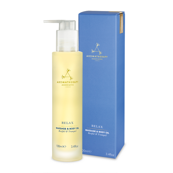 Aromatherapy Associates Relax Massage and Body Oil 100ml